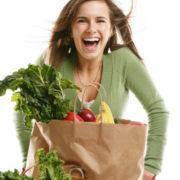 Enceinte et vegetarienne