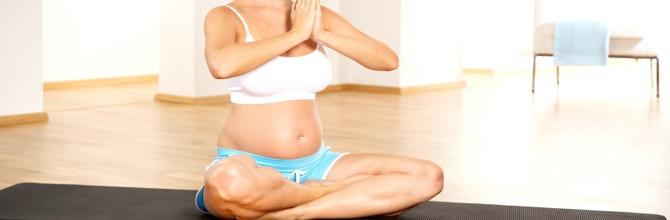 le yoga pendant la grossesse