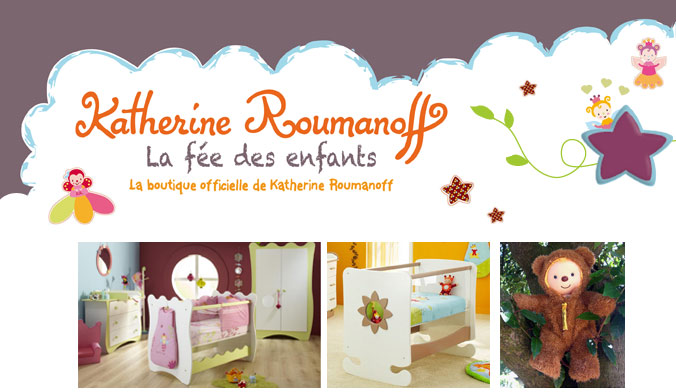 Boutique katherine roumanoff actufraise for Decoration chambre katherine roumanoff