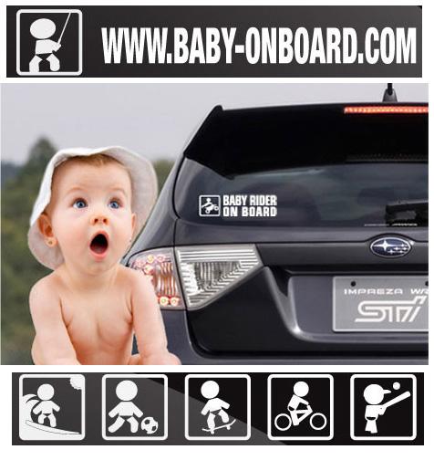 baby onboard Bébé à bord