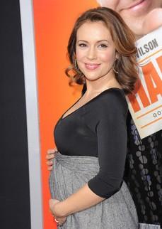 alyssa milano enceinte e1298625755145 Alissa Milano est enceinte