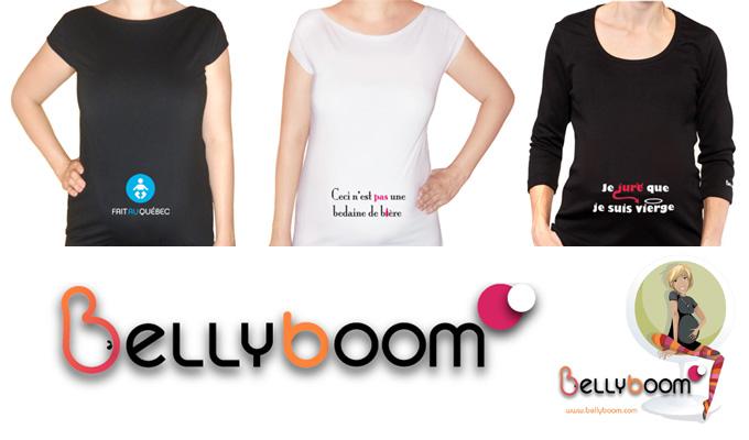 belly boom Portez votre bedon avec le sourire