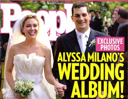 people magazine alyssa milano mariage Alissa Milano est enceinte