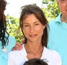 L&#39;actrice <b>Jennifer Lauret</b>, 32 ans est enceinte de son quatrième enfant. - Jennifer-Lauret