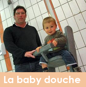 pour chaise haute piscine Baby la douchela bébé iwlOkXTZPu