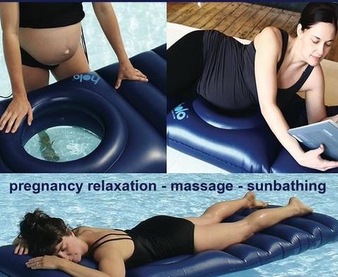 Holo lilo le matelas gonflable pour femme enceinte - Matelas pour femme enceinte ...