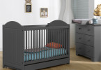 chambre bebe gris anthracite